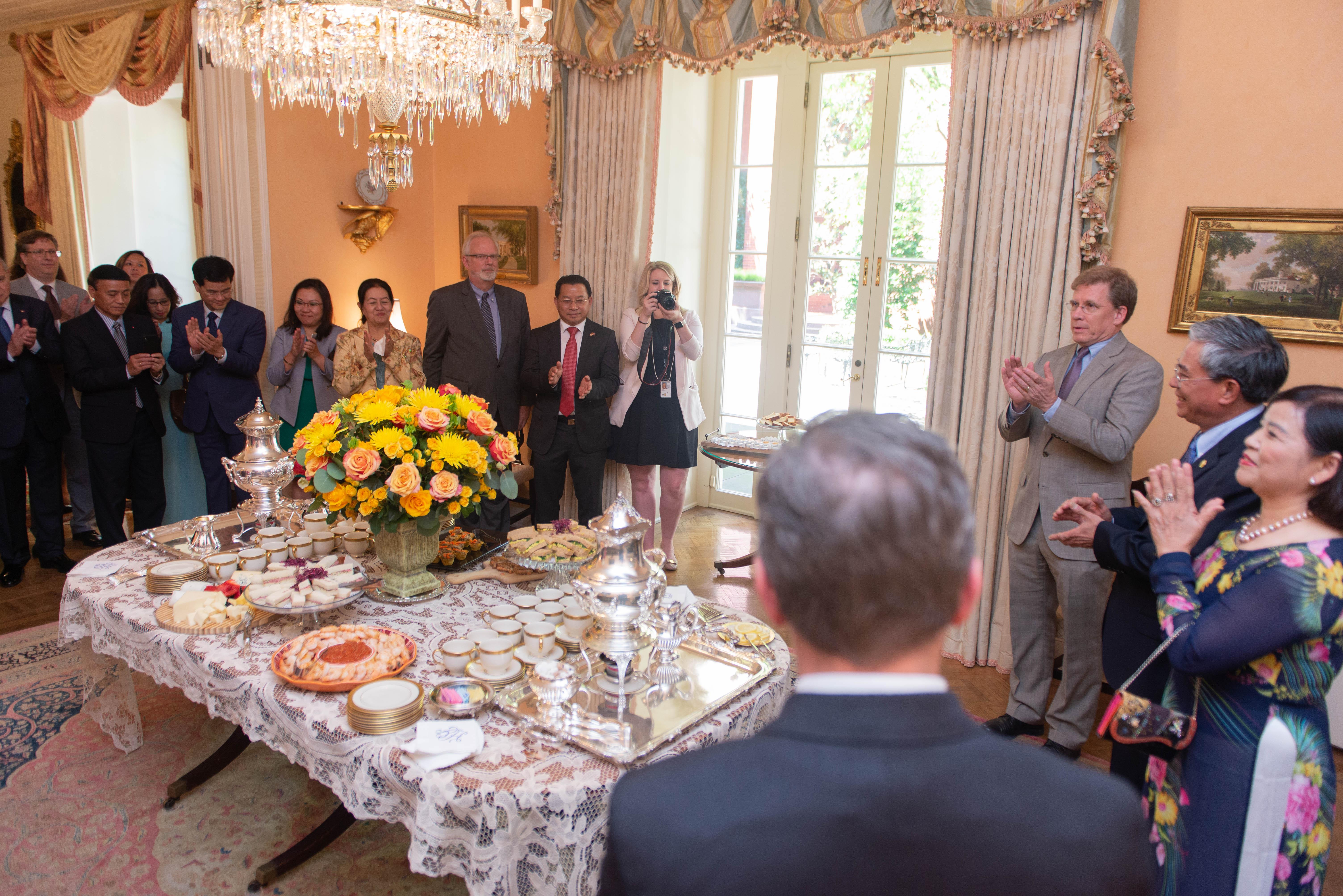 Bộ Ngoại giao Hoa Kỳ tổ chức tiếp tân chia tay Đại sứ Việt Nam