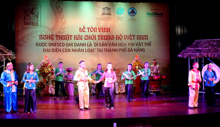 Đà Nẵng: Tôn vinh nghệ thuật Bài Chòi là di sản văn hóa phi vật thể đại diện của nhân loại