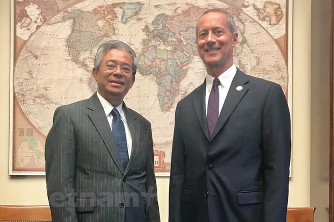 Việt Nam, Hoa Kỳ thảo luận biện pháp tăng cường quan hệ giữa Quốc hội hai nước