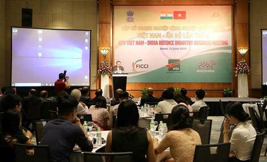 Gặp gỡ doanh nghiệp quốc phòng Việt Nam - Ấn Độ lần thứ 4