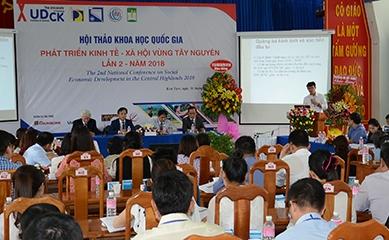 """Hội thảo khoa học quốc gia """"Phát triển Kinh tế - Xã hội vùng Tây Nguyên"""""""