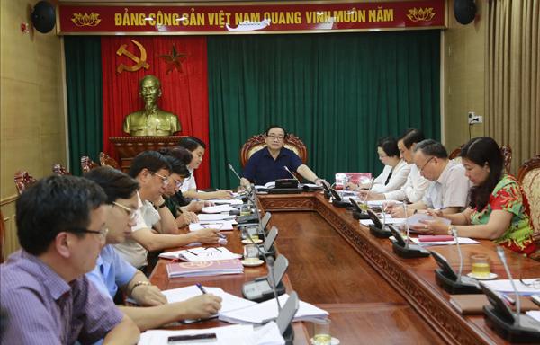 Chủ động nắm chắc tình hình, giữ vững an ninh trật tự trên địa bàn Thủ đô