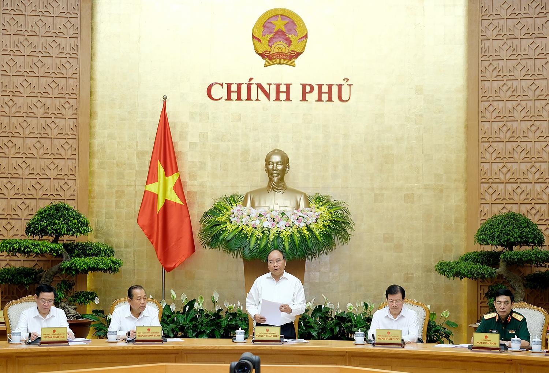Nghị quyết phiên họp Chính phủ thường kỳ tháng 5/2018