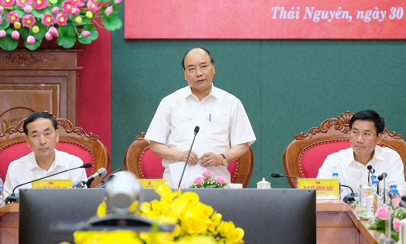 Thái Nguyên cần phấn đấu trở thành trung tâm công nghiệp dịch vụ và sáng tạo hàng đầu