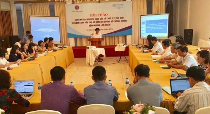 Mức tiêu thụ đường của người Việt Nam cao gần gấp đôi so với khuyến cáo của WHO