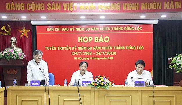 Nhiều hoạt động thiết thực kỷ niệm 50 năm Chiến thắng Đồng Lộc