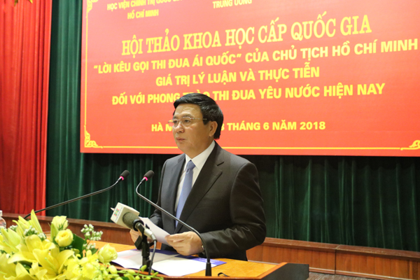 Lời kêu gọi thi đua yêu nước đối với sự nghiệp cách mạng của Đảng và nhân dân