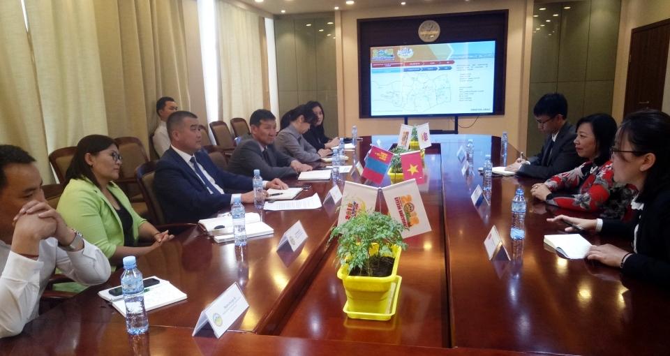 Tăng cường hợp tác địa phương Việt Nam – Mông Cổ