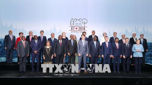 Toàn văn phát biểu của Thủ tướng tại Hội nghị Thượng đỉnh G7 mở rộng