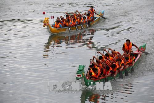 Khai mạc Giải đua thuyền truyền thống quốc gia năm 2018
