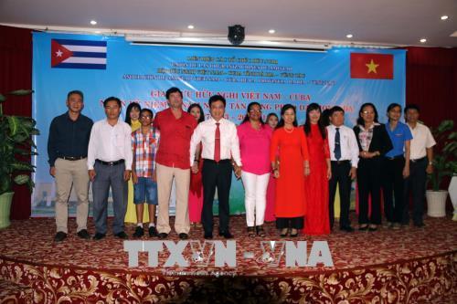 Giao lưu hữu nghị Việt Nam - Cuba