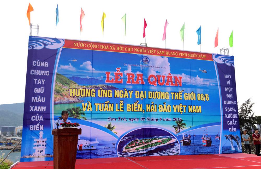Hơn 2.000 người dân Đà Nẵng hưởng ứng Tuần lễ Biển, Hải đảo Việt Nam năm 2018