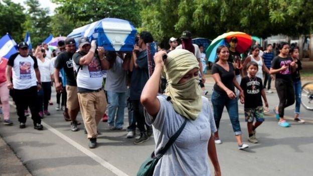 Đối thoại hòa bình tại Nicaragua đổ vỡ