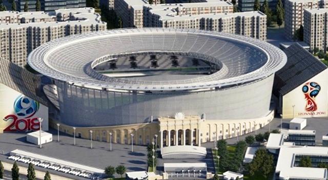 WORLD CUP 2018: Yekaterinburg – Đá bóng giữa hai châu lục