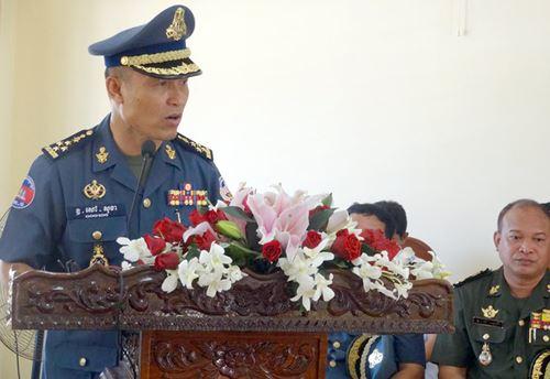 Campuchia điều chỉnh nhân sự cấp cao trong quân đội