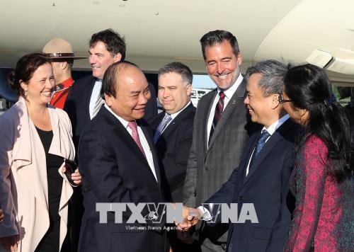 Thủ tướng Nguyễn Xuân Phúc bắt đầu chuyến tham dự Hội nghị Thượng đỉnh G7 mở rộng và thăm Canada