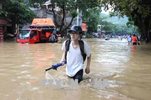 Tập trung khắc phục hậu quả mưa lũ, đảm bảo an toàn kỳ thi THPT quốc gia 2018
