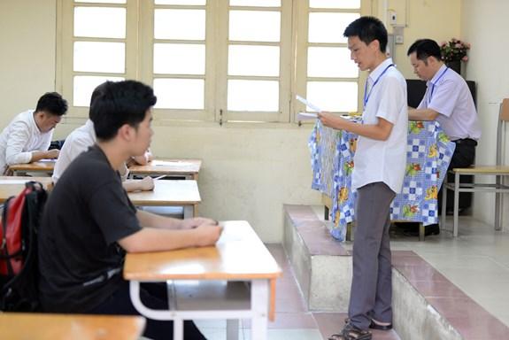 Sáng nay, hơn 912.000 thí sinh bước vào kỳ thi THPT quốc gia năm 2018