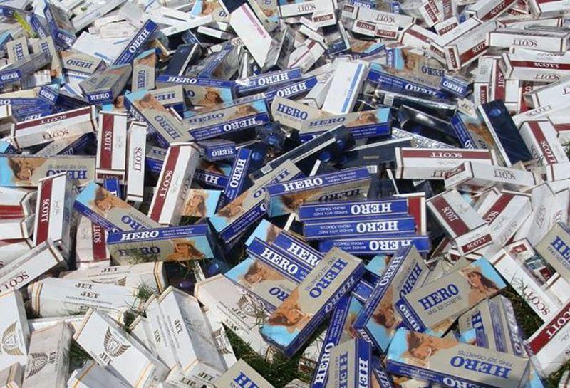 Tỷ lệ thành phần độc hại thuốc lá lậu đều vượt quá mức cho phép
