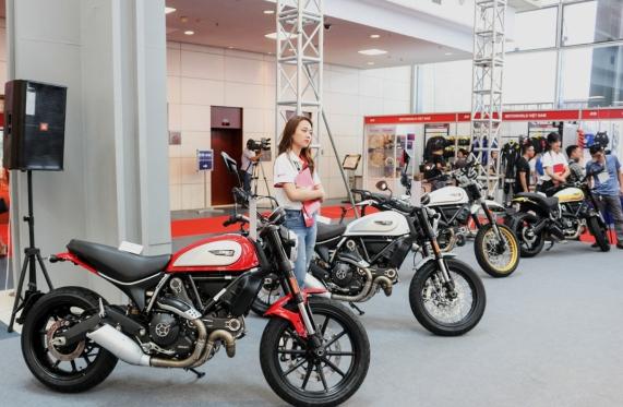 Vietnam AutoExpo 2018 thu hút nhiều thương hiệu mô tô phân khối lớn tham gia