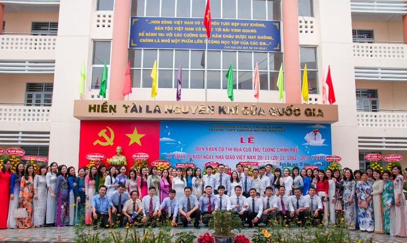 Trường THPT chuyên Huỳnh Mẫn Đạt: Điểm sáng của ngành giáo dục Kiên Giang