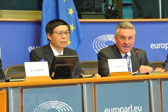 Hội thảo thúc đẩy Hiệp định Thương mại tự do Việt Nam - EU tại Bỉ