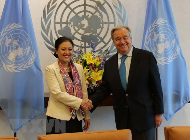 Liên hợp quốc đánh giá cao vai trò tích cực của Việt Nam tại các diễn đàn đa phương