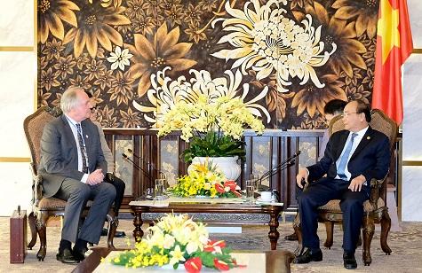 Thủ tướng Nguyễn Xuân Phúc tiếp Lãnh đạo ADB, WB và Tập đoàn Unilever