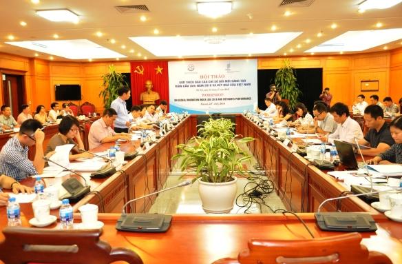 Việt Nam xếp hạng 45/126 quốc gia và nền kinh tế về lĩnh vực đổi mới sáng tạo