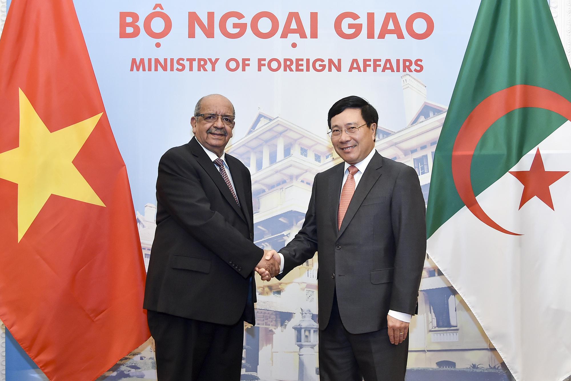 Đưa quan hệ hợp tác song phương Việt Nam - An-giê-ri tiếp tục phát triển