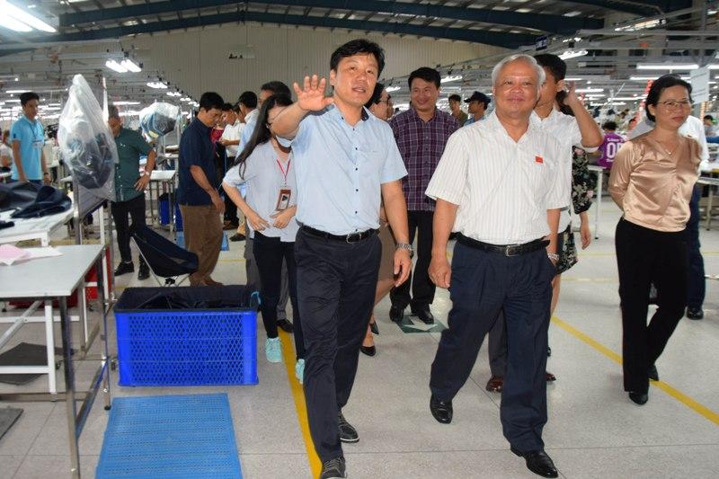 Phó Chủ tịch Quốc hội Uông Chu Lưu đến thăm và làm việc tại Sóc Trăng