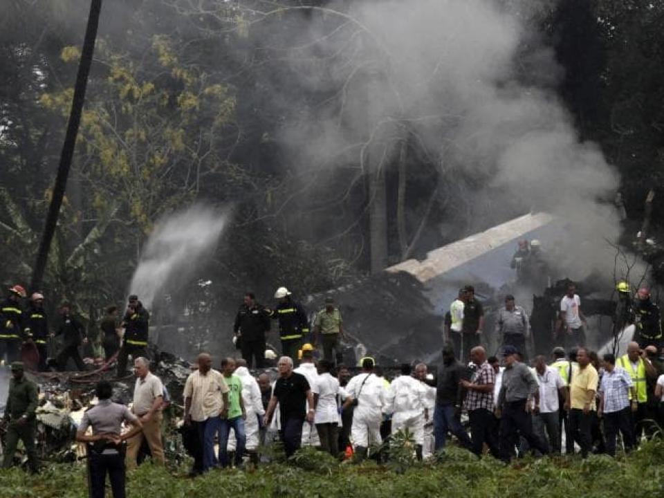 Vụ tai nạn máy bay tại Cuba: Thông tin ban đầu về nguyên nhân gây tai nạn