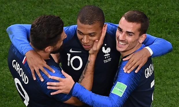 Pháp rộng cửa vô địch nhất World Cup 2018