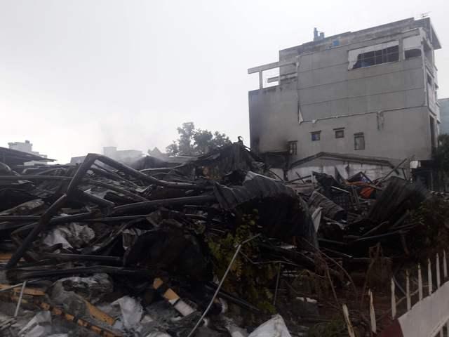 Tập trung khắc phục hậu quả vụ cháy chợ Gạo (Hưng Yên)