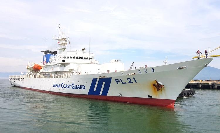 Tàu KOJIMA của Lực lượng Bảo vệ bờ biển Nhật Bản thăm Đà Nẵng