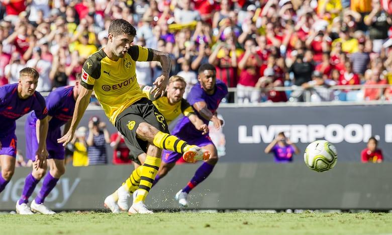Tài năng 19 tuổi giúp Dortmund hạ gục Liverpool