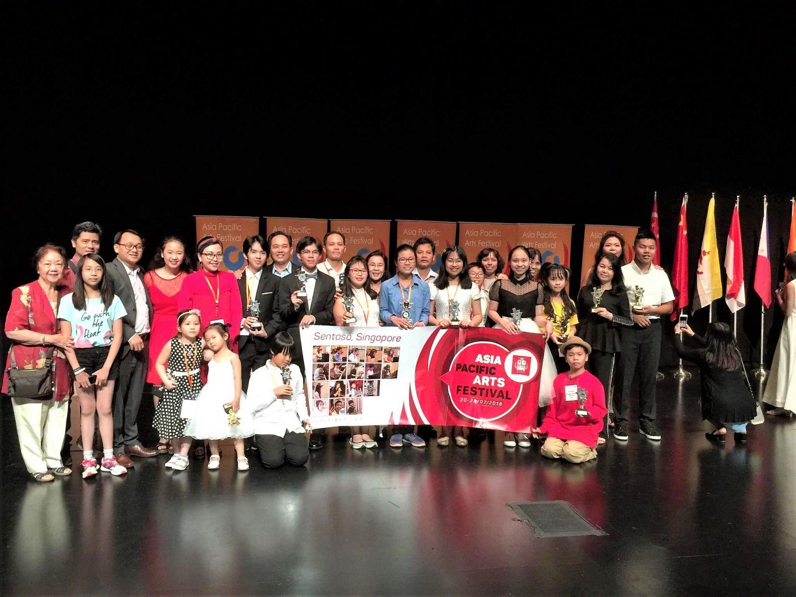 TED SAIGON thắng Lớn tại APAF SINGAPORE 2018