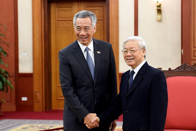 Quan hệ Việt Nam - Singapore đã và đang phát triển hết sức sinh động, thiết thực và hiệu quả