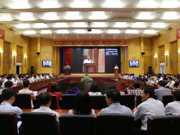 Đảng ủy Bộ Tài nguyên và Môi trường học tập, quán triệt, triển khai Nghị quyết Hội nghị lần thứ 7