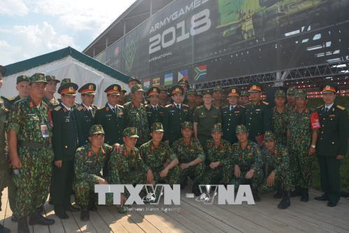 "Việt Nam tham gia Hội thao quân sự quốc tế ""Armygames - 2018"""
