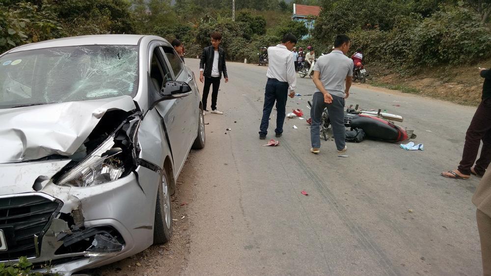 Bắc Giang: Tai nạn giao thông tăng cả 3 tiêu chí