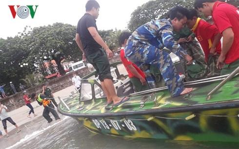 Tìm thấy 1 thi thể ngư dân trong tàu cá bị sóng đánh chìm trên biển Côn Đảo