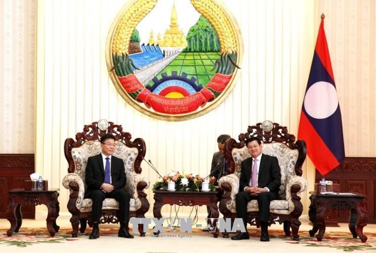 Thủ tướng Lào đánh giá cao sự hợp tác giữa Bộ Tư pháp hai nước Lào và Việt Nam
