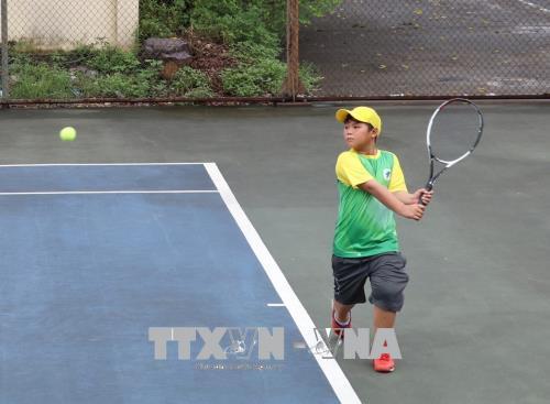 Khai mạc Giải quần vợt thanh thiếu niên toàn quốc 2018
