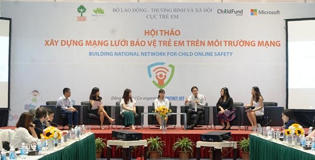 Xây dựng mạng lưới bảo vệ trẻ em trên môi trường mạng