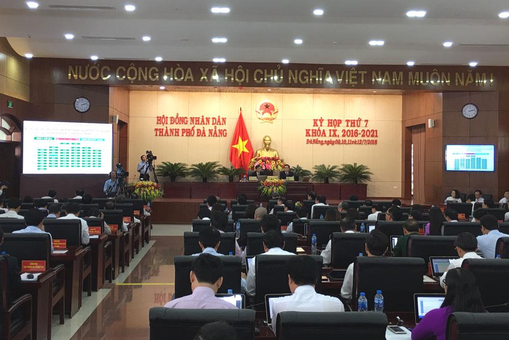 Bế mạc Kỳ họp 7 HĐND thành phố Đà Nẵng khóa IX