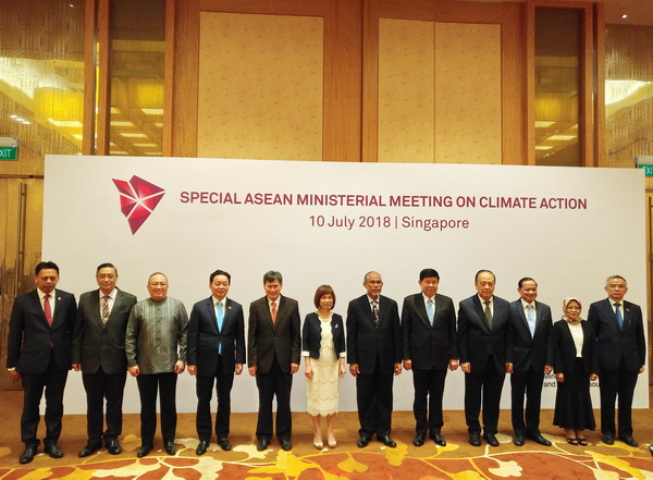 Việt Nam cam kết chung tay cùng ASEAN ứng phó với biến đổi khí hậu