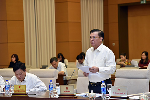 UBTVQH xem xét bổ sung dự toán NSNN năm 2018 cho tỉnh Bình Thuận