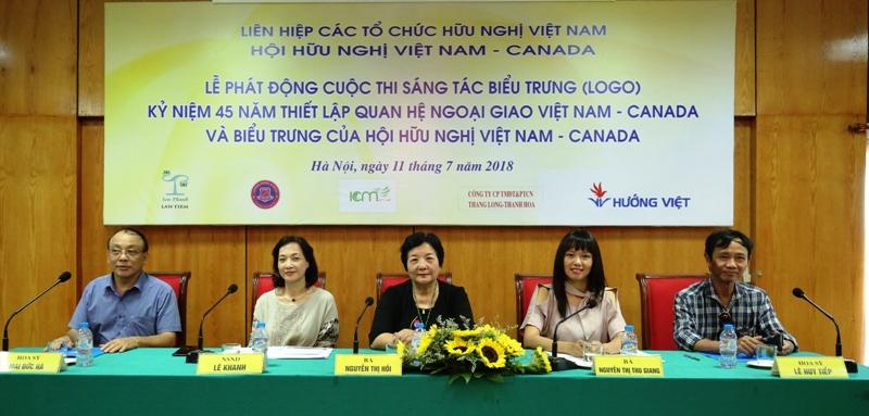 Phát động Cuộc thi sáng tác biểu trưng kỷ niệm 45 năm thiết lập quan hệ ngoại giao Việt Nam – Canada