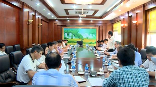 Kiểm tra tình hình thực hiện pháp luật về khí tượng thủy văn tại Cao Bằng